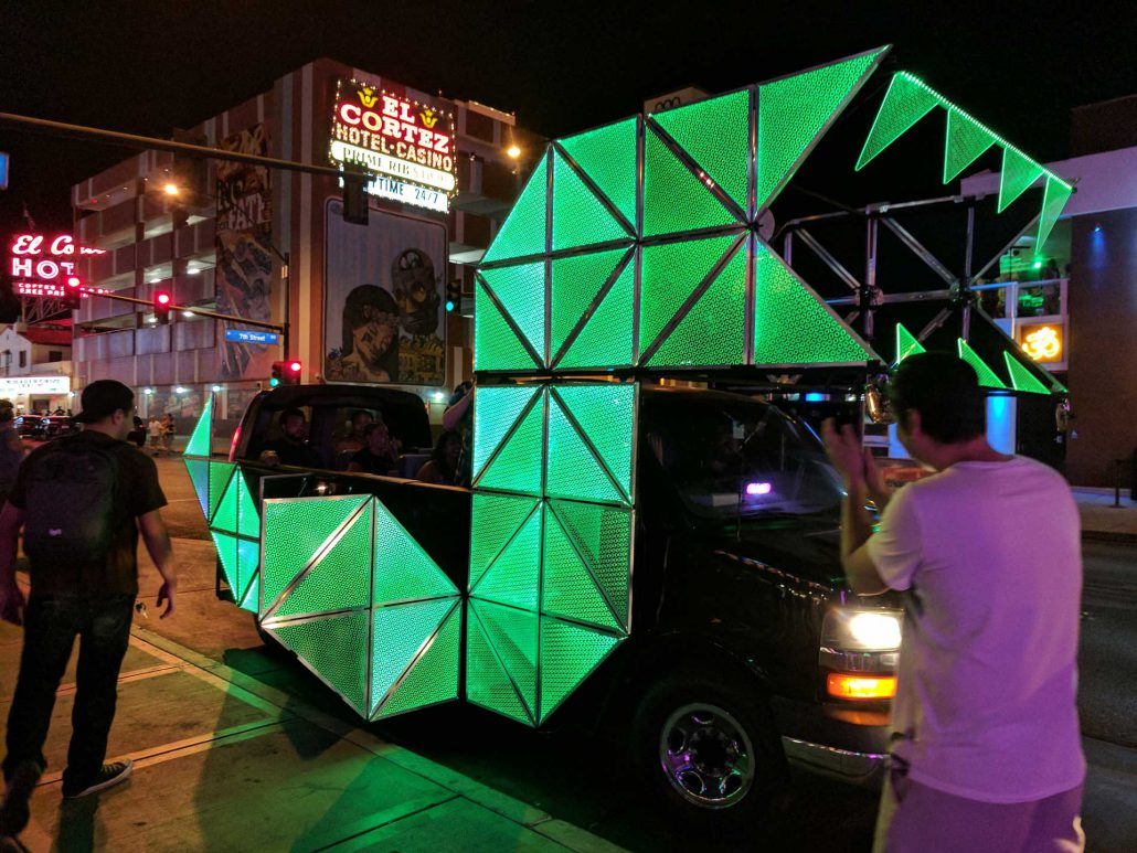 Nightcrawler LED Art Car