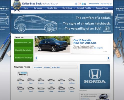 Honda CRV Kelly Blue Book Takeover